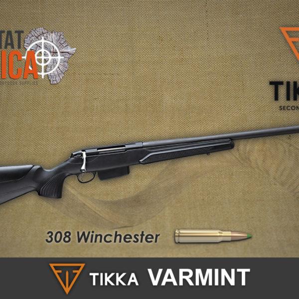 Tikka T3x 308 Varmint Habitat Africa