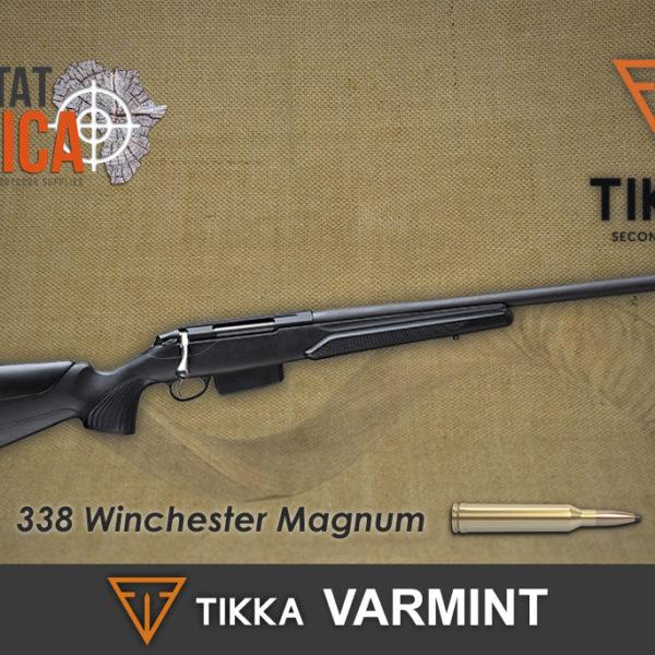 Tikka T3x Varmint 338 Win Mag