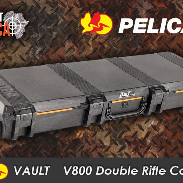 Pelican Vault V800 double rifle case Habitat Africa