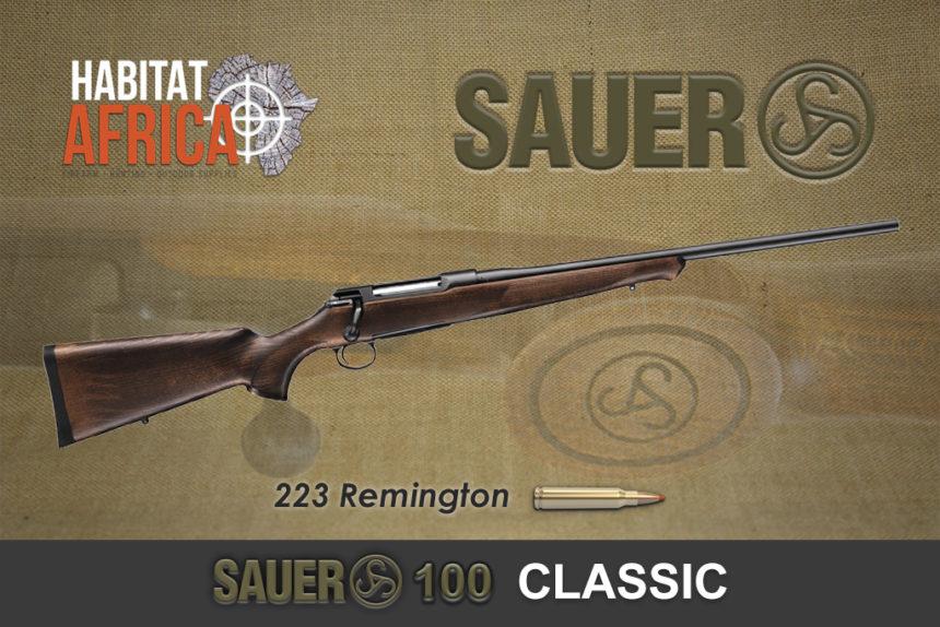 Sauer 100 Classic 223 Remington Habitat Africa