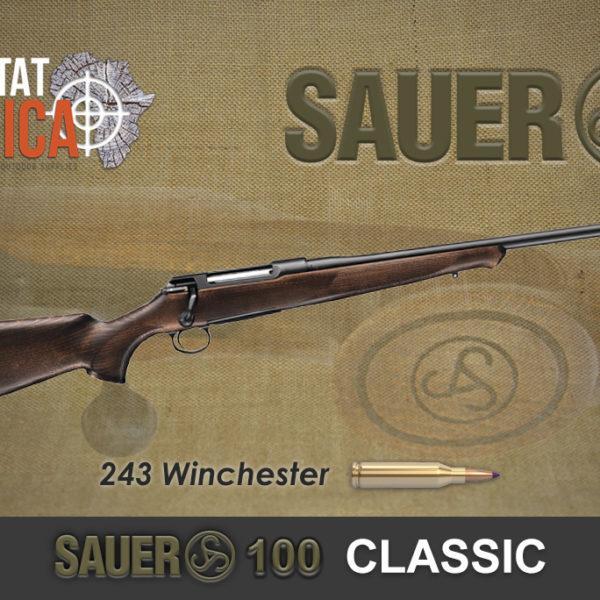 Sauer 100 Classic 243 Winchester Habitat Africa