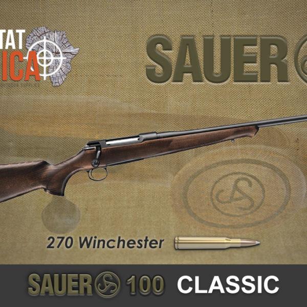 Sauer 100 Classic 270 Winchester Habitat Africa