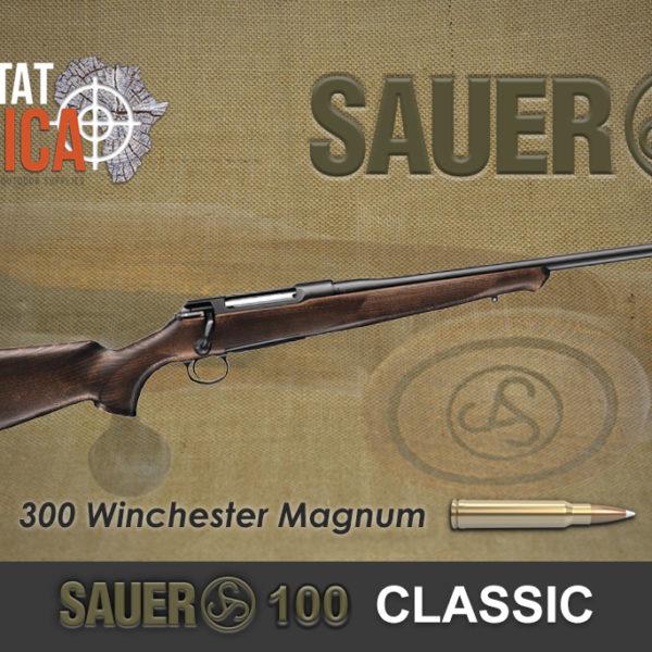 Sauer 100 Classic 300 Winchester Magnum Habitat Africa