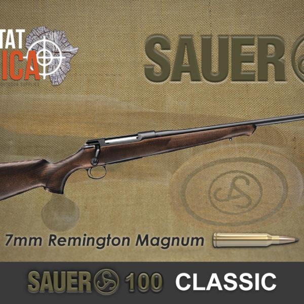Sauer 100 Classic 7mm Remington Magnum Habitat Africa