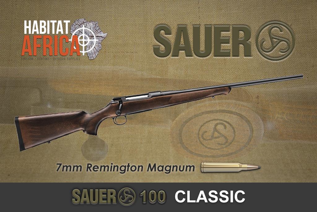 Sauer 100 Classic 7mm Remington Magnum