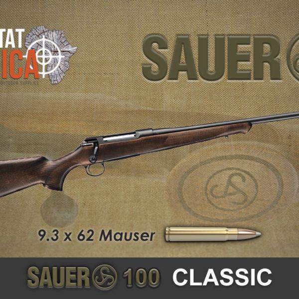 Sauer 100 Classic 9.3x62 Mauser Habitat Africa