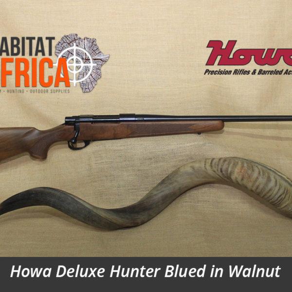 Howa Walnut Hunter Blued