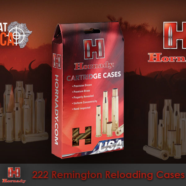 Hornady 222 Remington Reloading Brass Cases Habitat Africa
