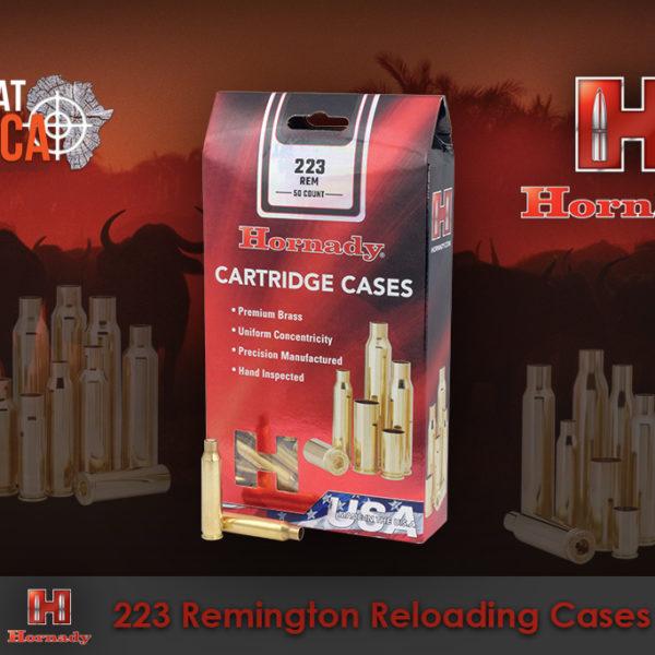 Hornady 223 Remington Reloading Brass Cases Habitat Africa