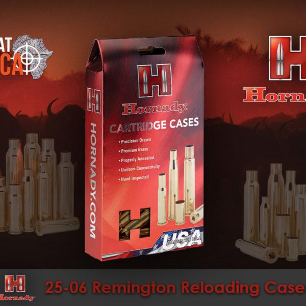 Hornady 25-06 Remington Reloading Brass Cases Habitat Africa
