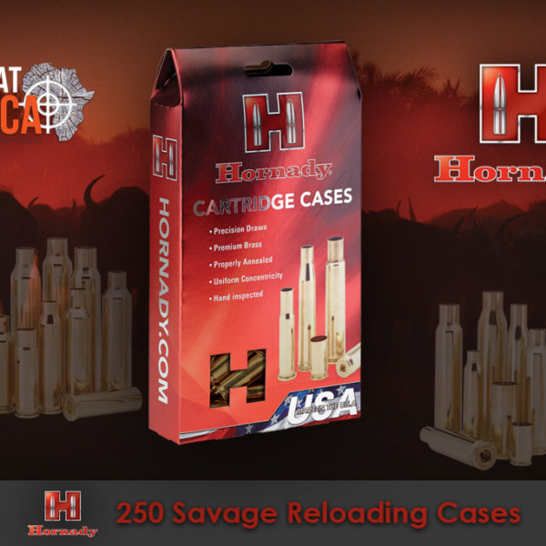 Hornady 250 Savage Reloading Brass Cases Habitat Africa