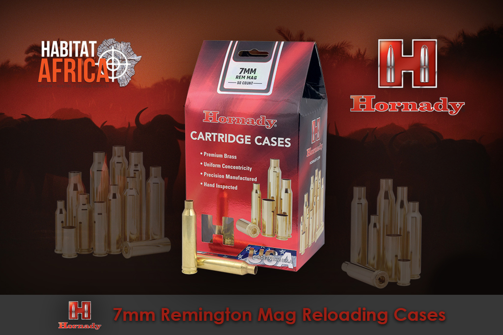 Hornady 7mm Remington Magnum Reloading Brass Cases