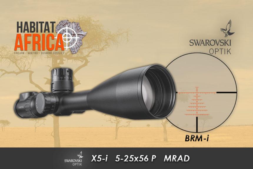 Swarovski X5-i 5-25x56 MRAD BRM-i Habitat Africa