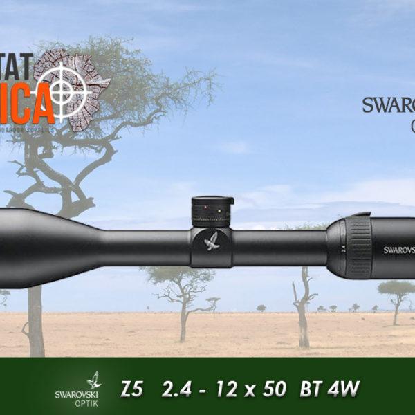 Swarovski Z5 2.4-12x50 BT 4W Habitat Africa 1