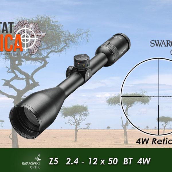 Swarovski Z5 2.4-12x50 BT 4W Habitat Africa