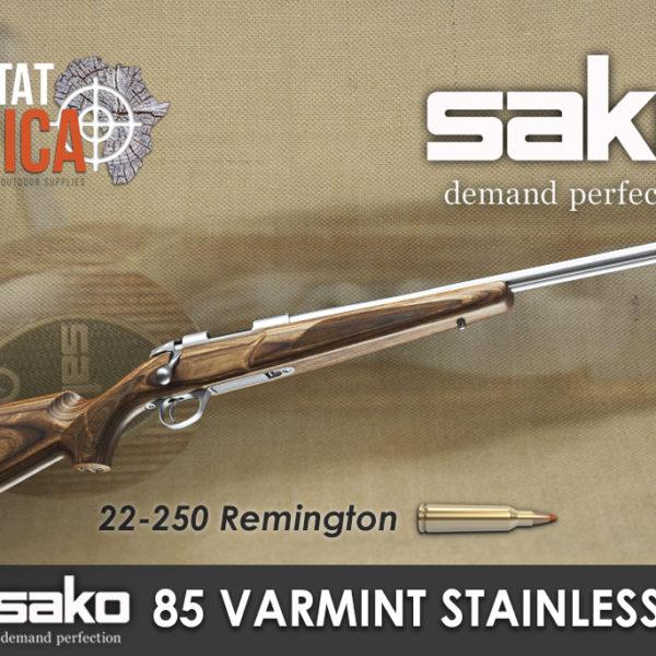 Sako 85 Varmint Stainless 22-250 Rem Habitat Africa