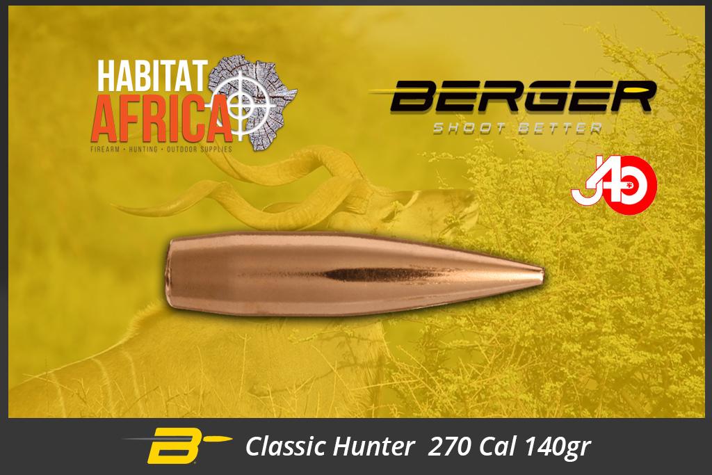 Berger Classic Hunter 270 Cal 140 grain