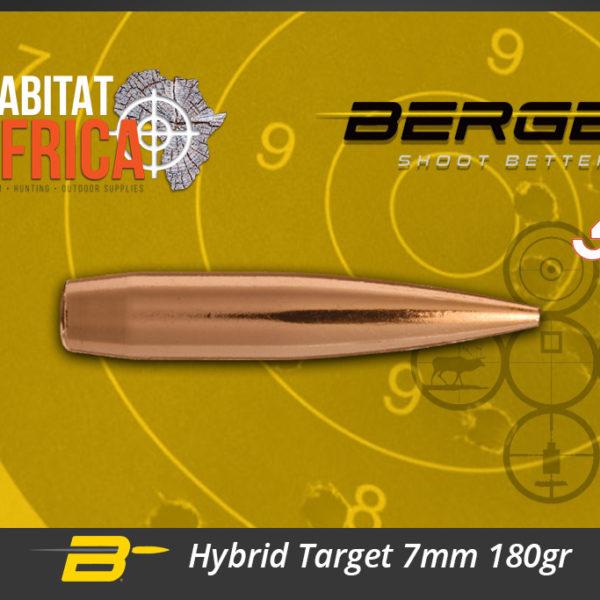 Berger Hybrid Target 7mm 180gr Bullets Habitat Africa