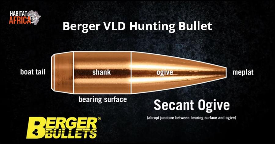 Berger VLD Hunting Bullet Design