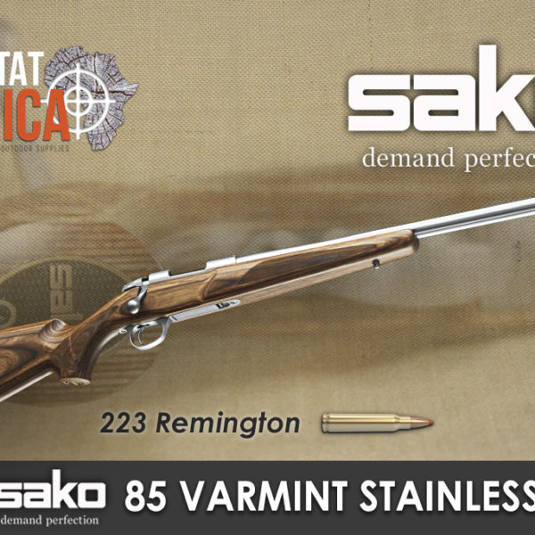 Sako 85 Varmint Stainless 223 Rem Habitat Africa