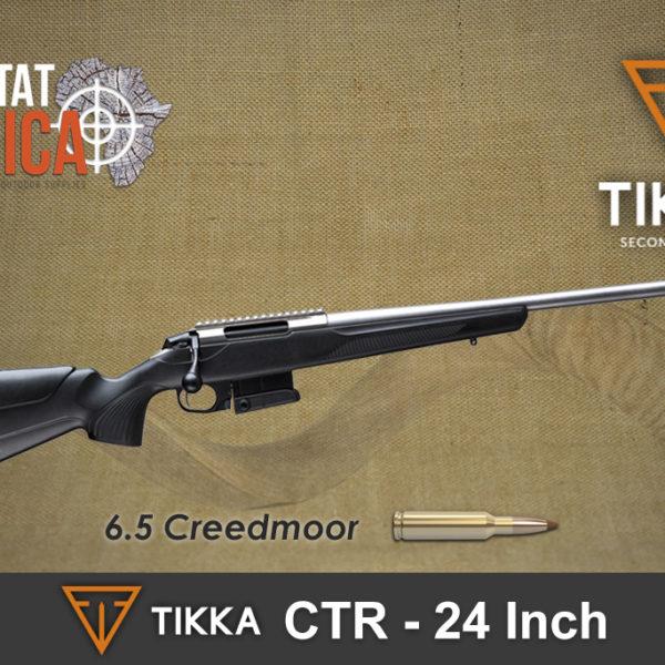 Tikka CTR 6.5 CM 24 inch Stainless