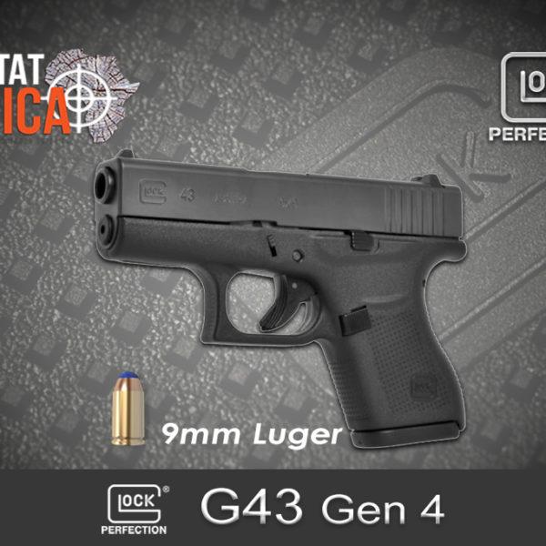 Glock 43 Gen 4 9mm Luger Habitat Africa
