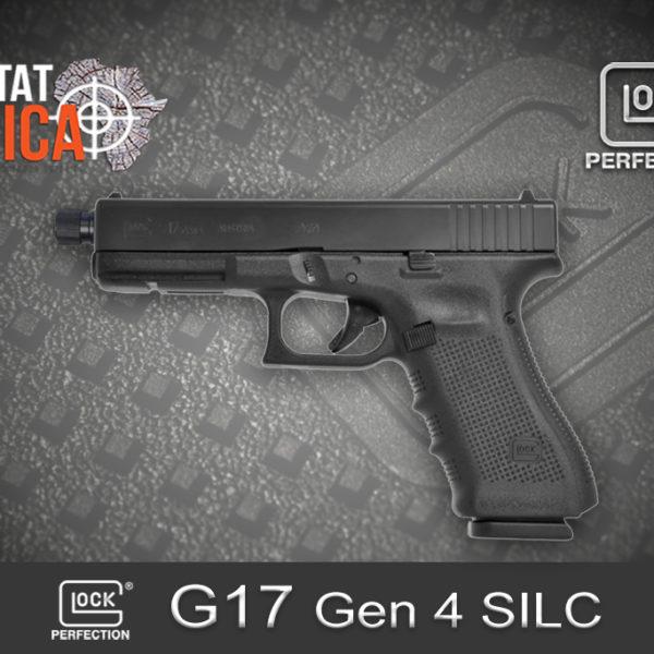 Glock 17 Gen 4 SILC 9mm Luger Habitat Africa 1