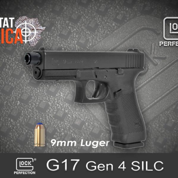 Glock 17 Gen 4 SILC 9mm Luger Habitat Africa