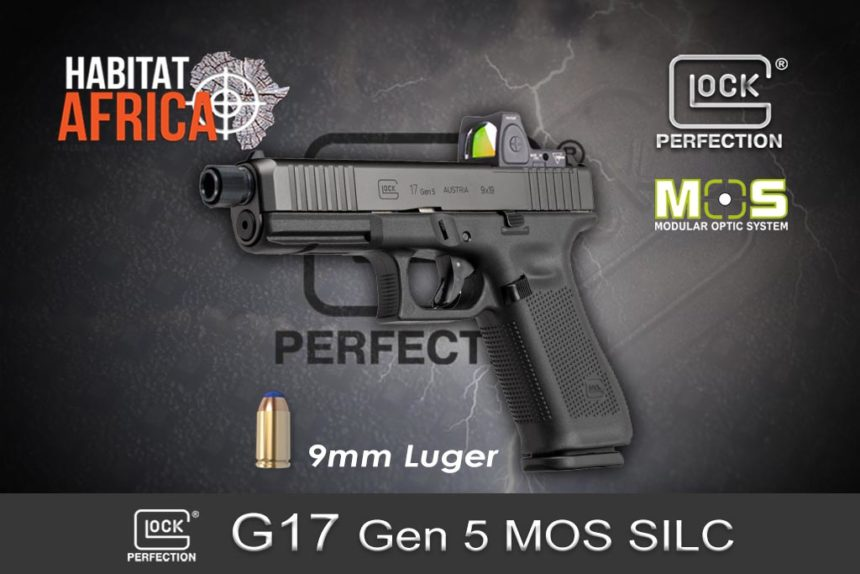 Glock 17 Gen 5 9mm Luger MOS Silc Habitat Africa