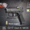 Glock 17 Gen 5 MOS 9mm Luger Habitat Africa 1