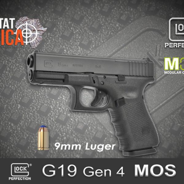 Glock 19 Gen 4 MOS 9mm Luger Habitat Africa
