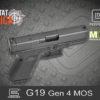 Glock 19 Gen 4 MOS 9mm Luger Habitat Africa 7
