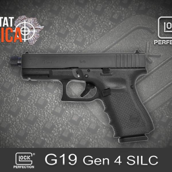 Glock 19 Gen 4 SILC 9mm Luger Habitat Africa 1