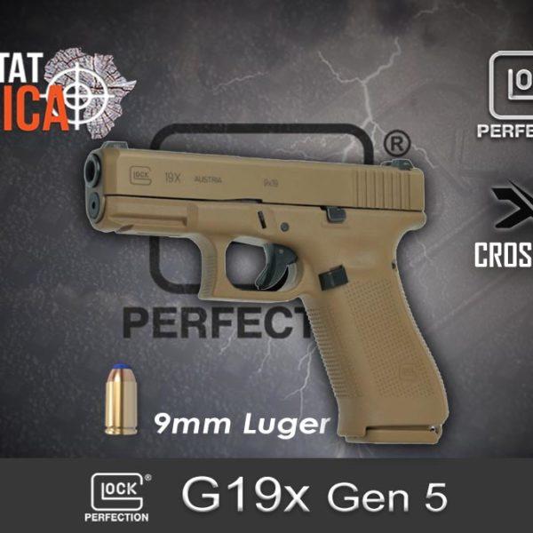 Glock 19x Gen 5 9mm Par Habitat Africa 1