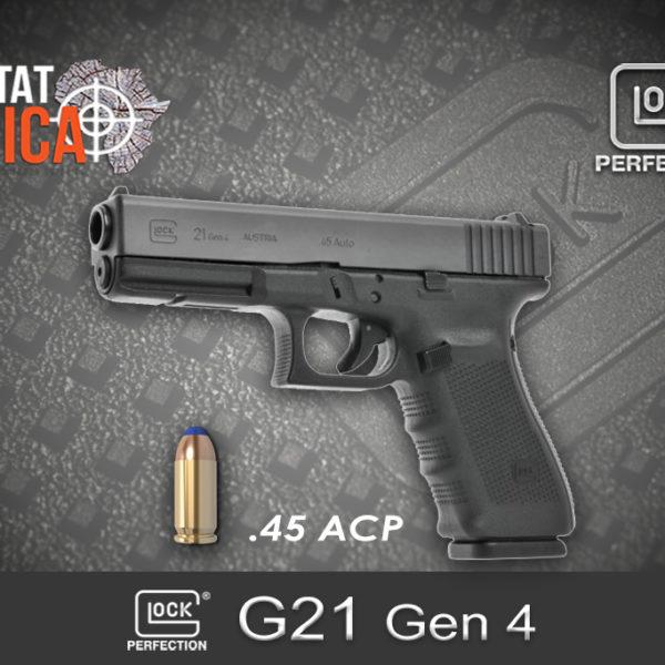 Glock 21 Gen 4 45 ACP Habitat Africa