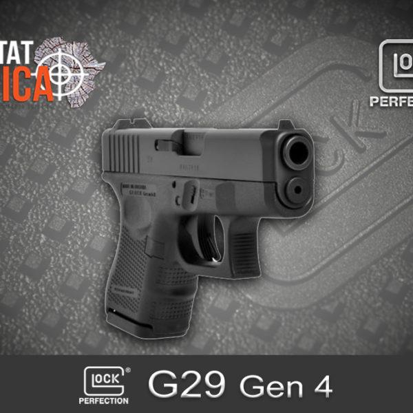 Glock 29 Gen 4 10mm Auto Habitat Africa 5