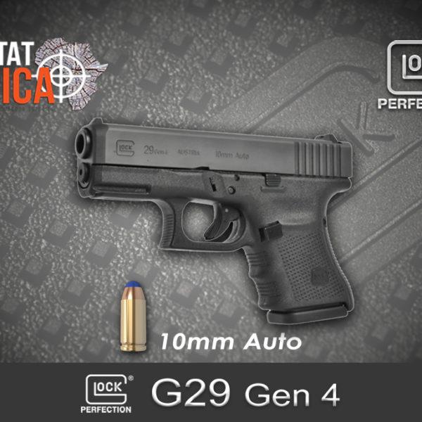 Glock 29 Gen 4 10mm Auto Habitat Africa