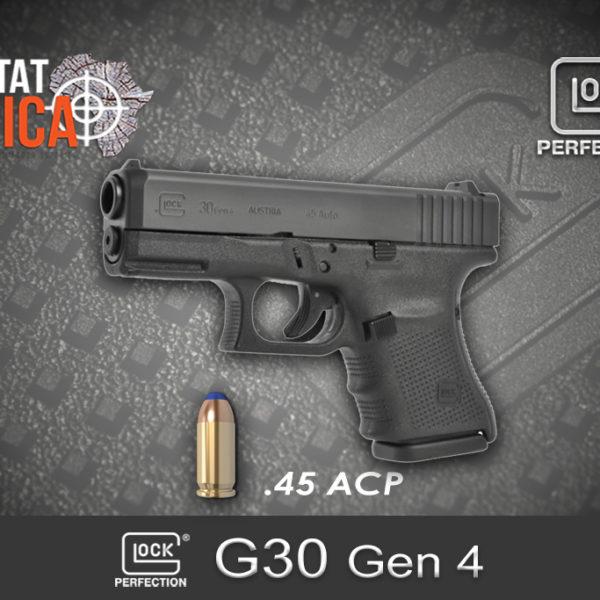 Glock 30 Gen 4 45 ACP Habitat Africa
