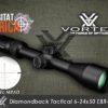 Vortex Diamondback Tactical 6-24x50 FFP EBR 2c MRAD Habitat Africa