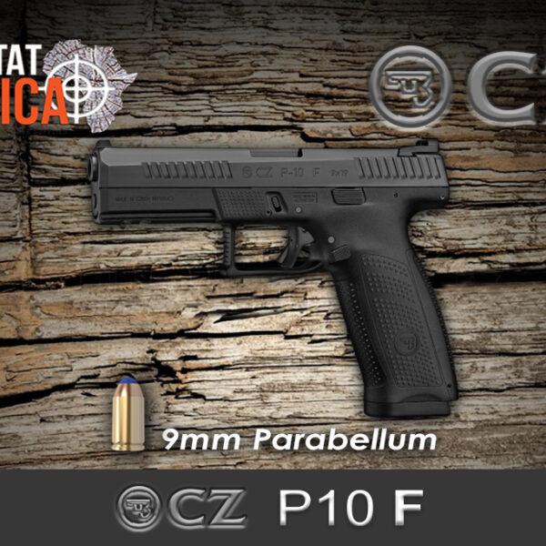 CZ P10 F 9mm Parabellum Habitat Africa