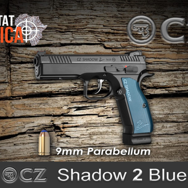 CZ Shadow 2 Blue 9mm Parabellum Habitat Africa