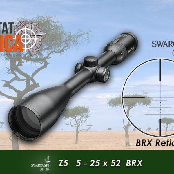 Swarovski Z5 5-25x52 BRX Habitat Africa