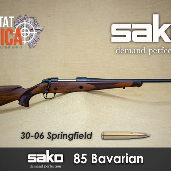Sako 85 Bavarian 30-06 Springfield Habitat Africa