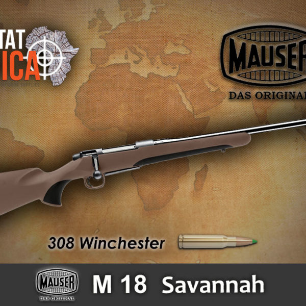 Mauser M18 Savannah 308 Winchester Habitat Africa