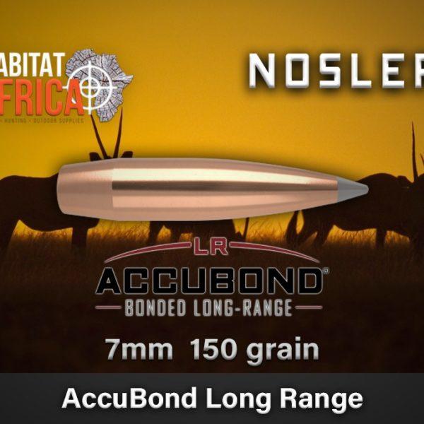 Nosler ABLR 7mm 150grain Habitat Africa