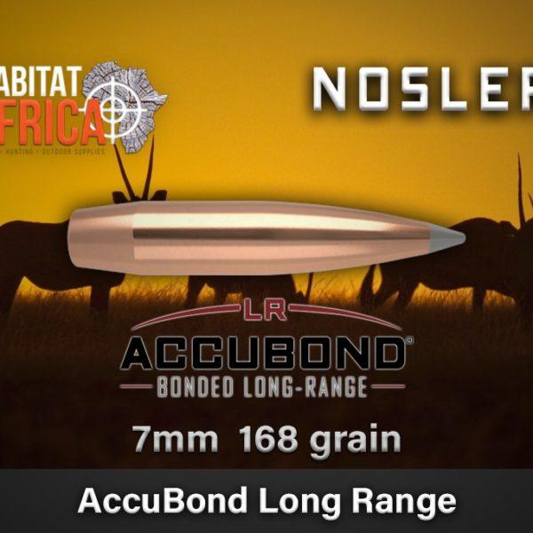 Nosler Accubond Long Range 168 gr Bullets Habitat Africa