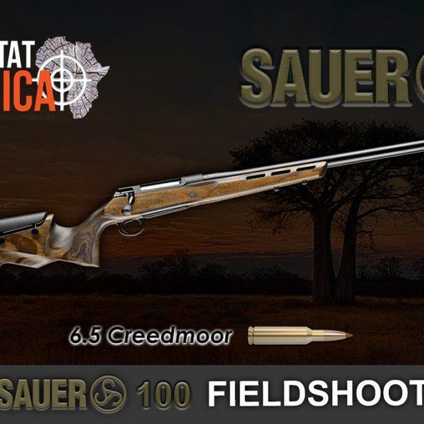Sauer 100 Fieldshoot 6.5 Creedmoor Rifle Habitat Africa