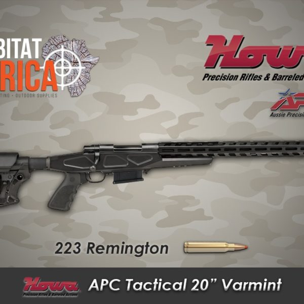 Howa APC 20 inch 223 Remington Habitat Africa