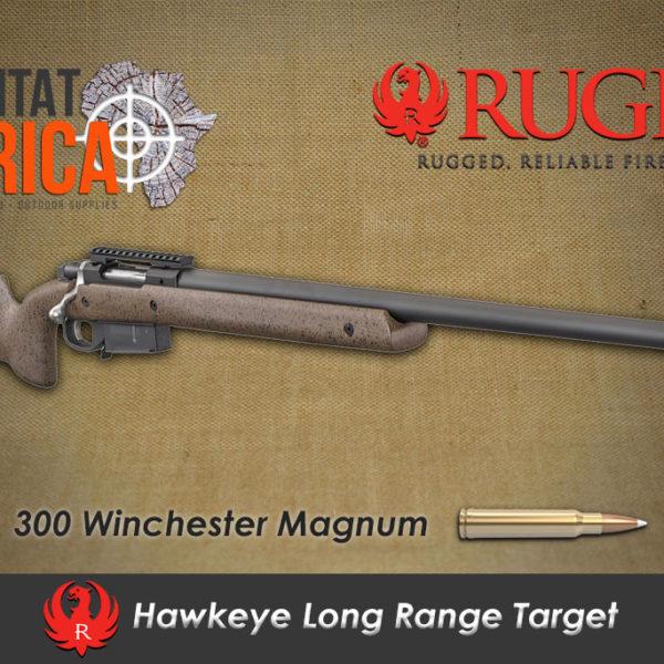 Ruger Hawkeye Long Range Target 300 Win Mag Rifle Habitat Africa