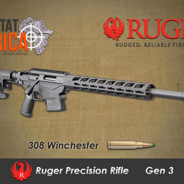 Ruger Precision Rifle 308 Winchester Habitat Africa